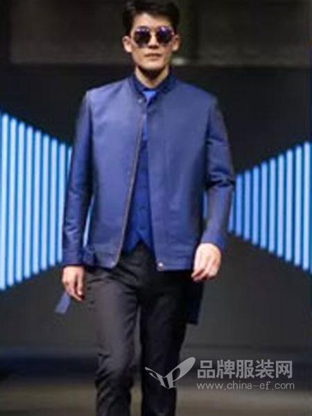 隆庆男装品牌2019春夏立领韩版修身新品茄克衫中年男士薄款中国风外套