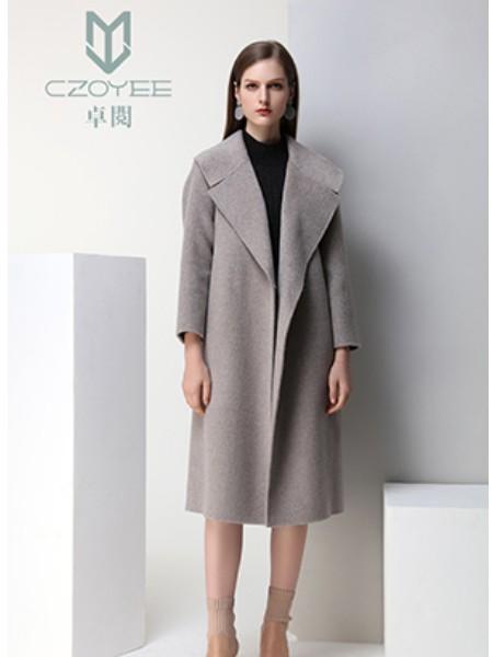 卓阅女装品牌2018冬季双面呢