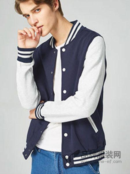 keep nice休闲品牌2019春季韩版潮时尚棒球衫外套卫衣