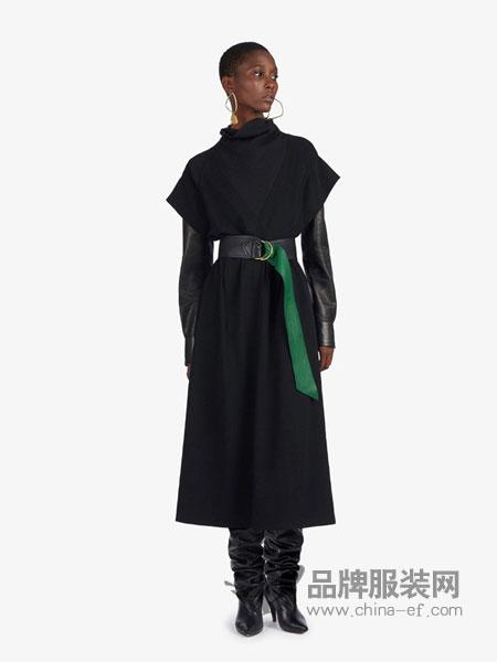 Givenchy纪梵希休闲品牌2019春夏新款韩版气质显瘦修身收腰过膝长裙