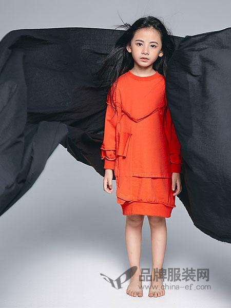 私品堂童装 - Sipintamn Kids童装品牌2019春夏字母中大童韩版拼接卫衣裙潮