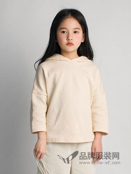 ENHENN CHILDREN'S CLOTHING童装品牌2019春夏新款纯棉上衣儿童连帽衫潮