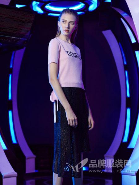 UMISKY优美世界女装品牌2019春夏新款短袖七分裤休闲两件套