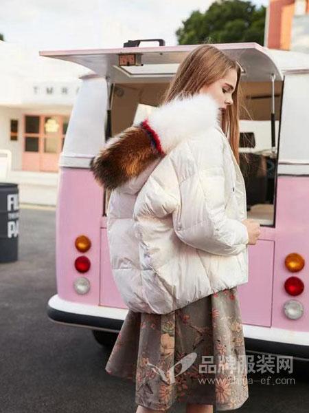 5iF女装品牌新款韩版短款宽松面包服加厚小棉服棉袄