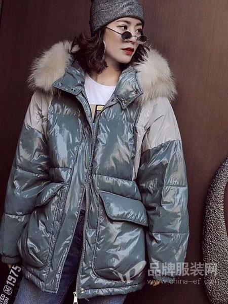 5iF女装品牌新款宽松韩版学院风甜美女神范潮中长款外套