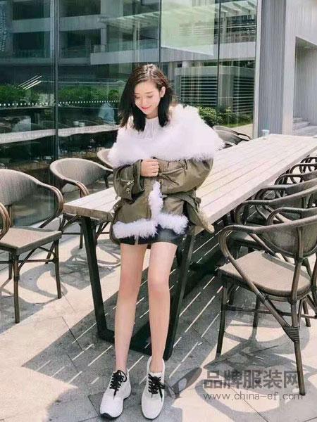 5iF女装品牌新款时尚简约潮外套