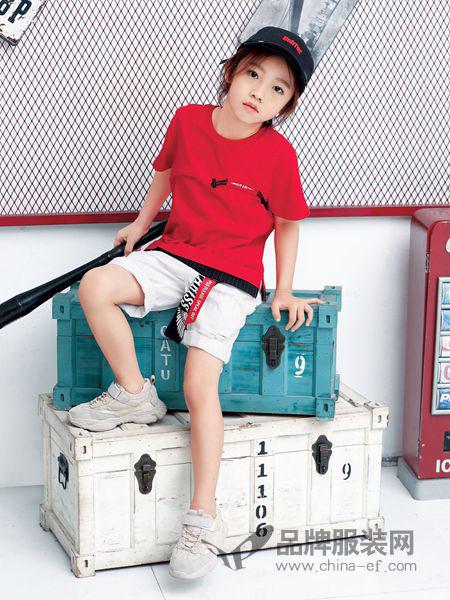 typeboy-1974 形仔童装品牌2019春夏新款韩版短袖圆领休闲运动两件套