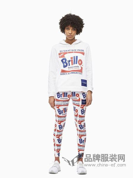 Calvin Klein休闲品牌2019春季新款长袖韩版宽松卫衣