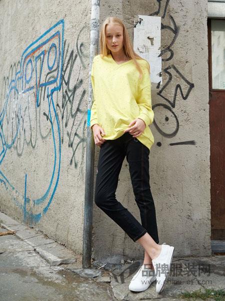 BELLO SZ 淿素女装品牌2019春夏新款宽松长袖上衣