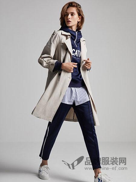 莫乂/MR&Er女装品牌新款韩版中长款薄款外套chic潮气质