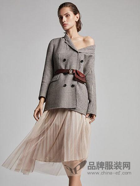 莫乂/MR&Er女装品牌新款韩版休闲复古小西装宽松英伦风外套
