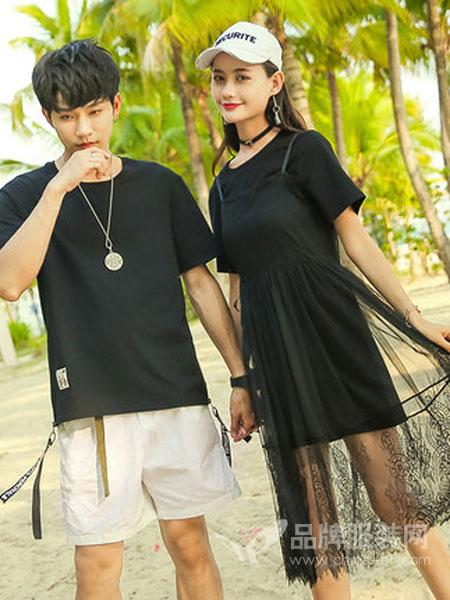恩尚女装品牌2019春夏新款个性韩版百搭套装