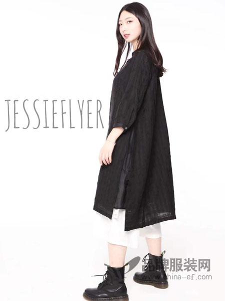 捷西非儿J.S.F.R女装品牌2019春季新款韩版中长款宽松休闲百搭薄外套