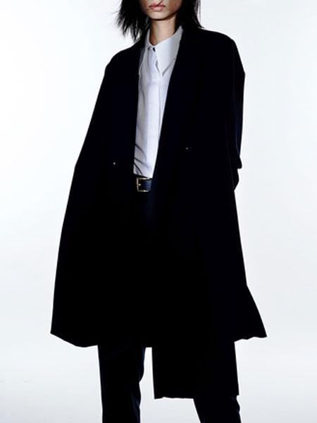 MLAU女装品牌2019春季新款宽松时尚百搭中长款外套薄