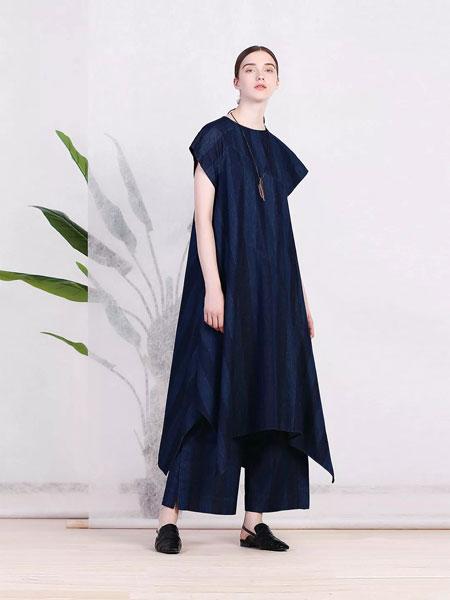 三淼女装品牌2019春季新款韩版宽松显瘦长裙