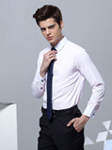 奋钧男装品牌2019春夏白色长袖衬衫男韩版修身欧美法式衬衫商务绅士新郎结婚礼服白衬衣