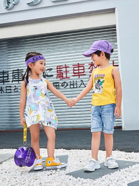 卡尔菲特童装品牌2019春夏新款纯棉中大童内穿打底衫薄款无袖上衣