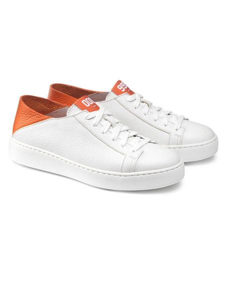 Santoni鞋帽/领带品牌2019春夏 低帮系带运动休闲鞋