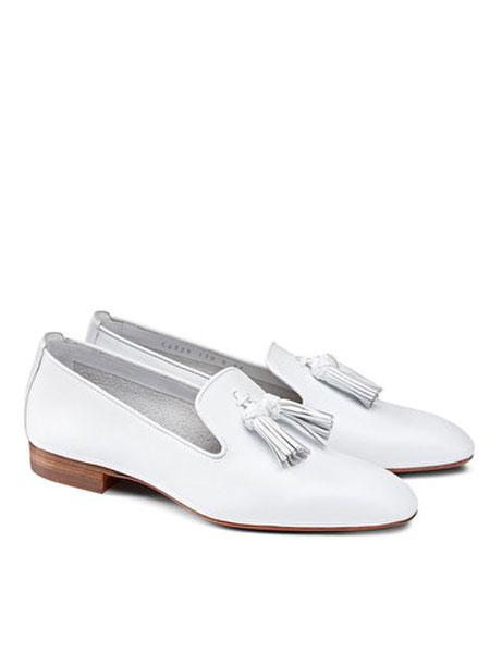 Santoni鞋帽/领带品牌2019春夏新款韩版百搭鞋