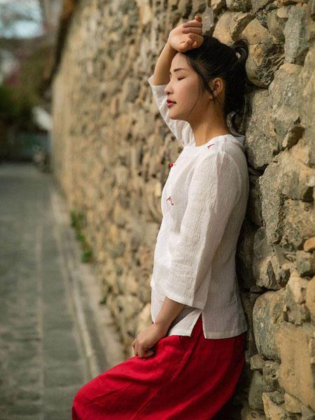 迂墨女装品牌2019春季新款修身休闲中国风上衣