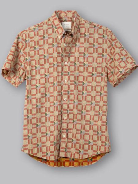 Billy Reid比利·里德休闲品牌2019春夏新款翻领时尚舒适上衣