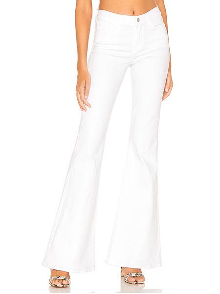 REVOLVE clothing女装品牌2019春夏新款修身中腰牛仔裤