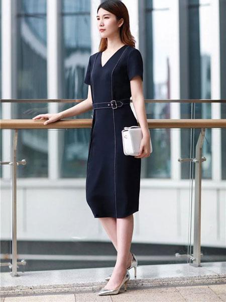 卡迪黛尔女装品牌2019春夏新款通勤气质时尚修身显瘦包臀裙