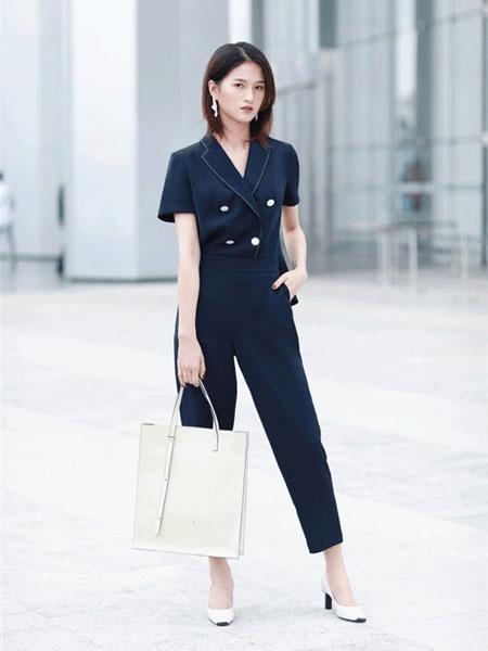 卡迪黛尔女装品牌2019春夏新款韩版商务休闲西装套装