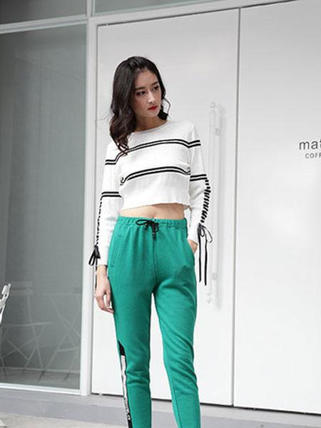 延美女装品牌2019春夏新款宽松韩版白色短袖T恤