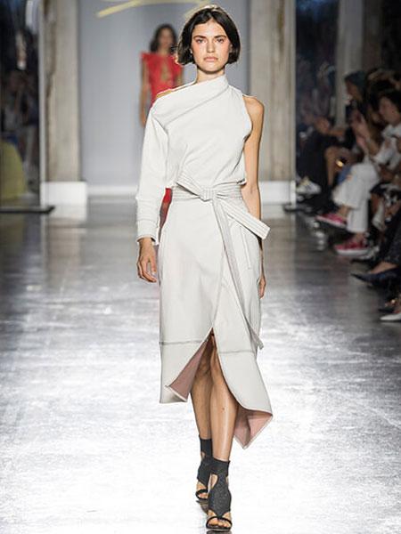 Genny女装品牌2019春夏新款两件套显瘦欧货洋气修身气质女神范套装裙