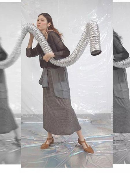 S-Echo女装品牌2019春夏新款韩版女文艺风休闲百搭纯色高腰显瘦中长款半身裙