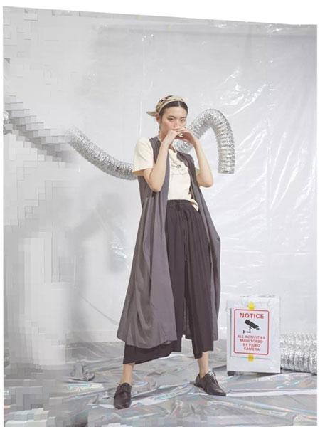 S-Echo女装品牌2019春夏新款韩版简约百搭宽松阔腿裤