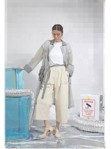 S-Echo女装品牌2019春夏新款翻领长袖单排扣长款衬衫