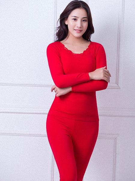 舒克内衣品牌2019春夏新款时尚保暖内搭内衣套装