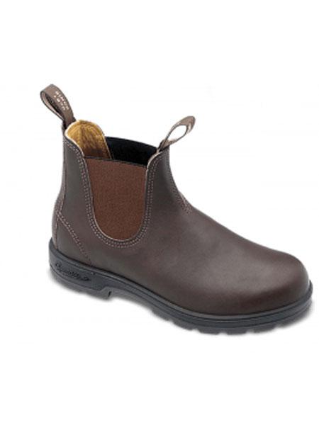 Blundstone鞋帽/领带品牌2019春夏经典休闲方头软牛皮工装靴