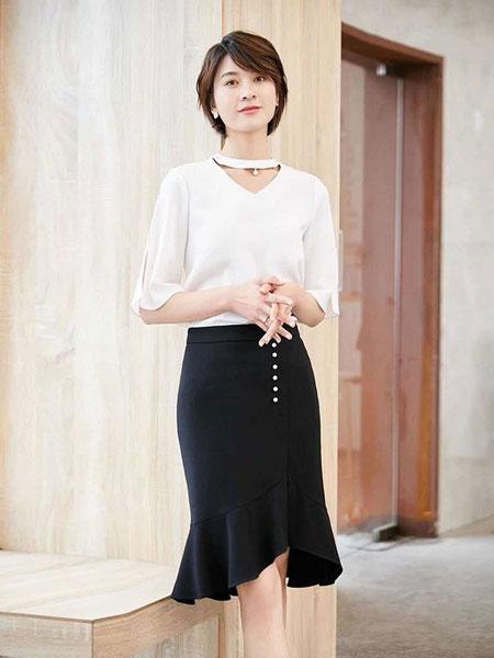 耀出色UONTHS休闲品牌2019春夏新款韩版时尚优雅职业套装