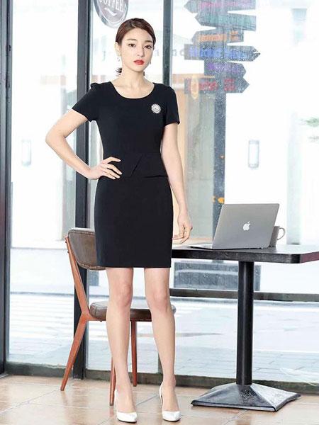 耀出色UONTHS休闲品牌2019春夏新款韩版V领长袖气质时尚职业衬衫
