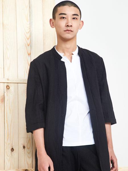 玖尺男装品牌2019春夏新款复古时尚商务百搭外套