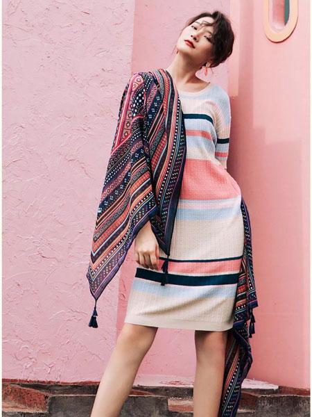 CM女装品牌2019春夏新款时尚修身显瘦连衣裙