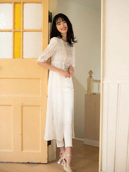 Dazzlin女装品牌2019春夏新款时尚显瘦网纱外套