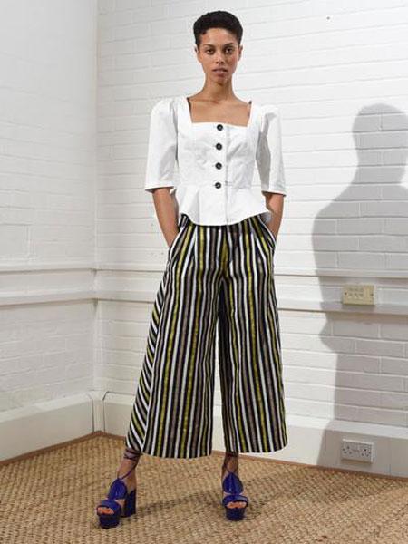 ISA ARFEN女装品牌2019春夏新款礼服裹胸式上衣小外套