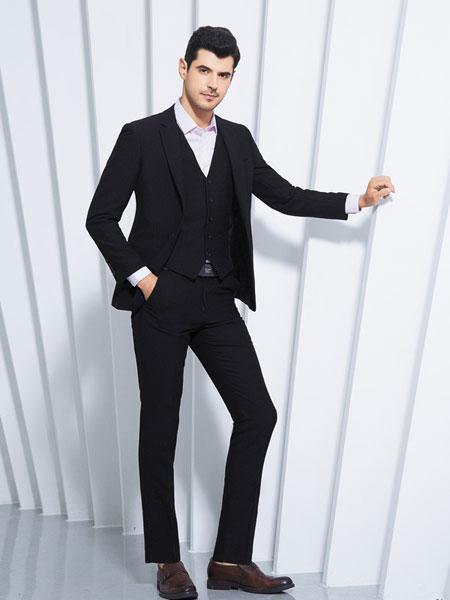 法鳄 - BAYU男装品牌2019春夏新款商务正装修身西装套装