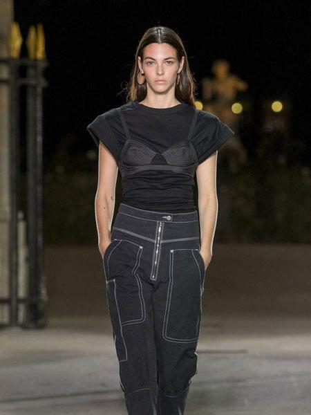 伊萨贝尔 马朗特女装品牌新款时尚圆领短袖上衣