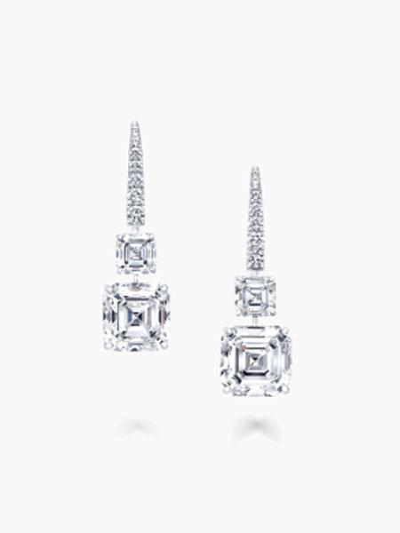 Graff格拉夫珠宝潮流饰品品牌2019春夏新款韩版简约个性时尚百搭耳环