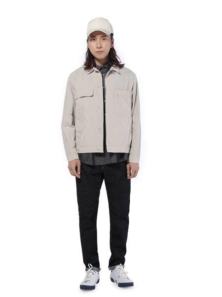 第二印象男装品牌2019春夏修身纯色圆领纯棉简约T恤