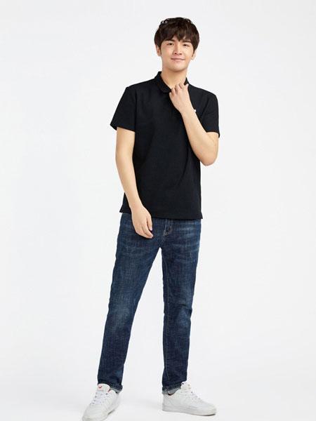 FASTFISH快鱼休闲品牌2019春夏纯棉新款商务休闲T恤