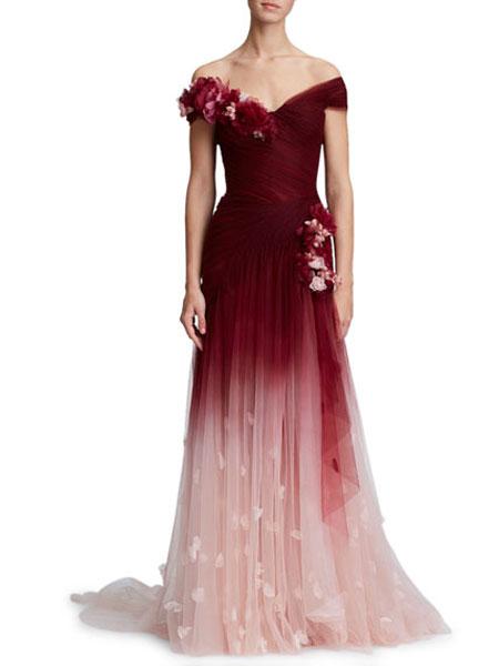Bergdorf Goodman波道夫·古德曼女装品牌2019春夏新款时尚休闲礼服裙
