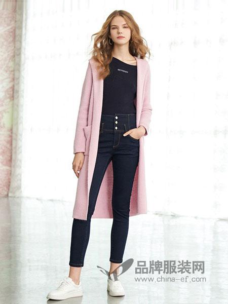 GLORIA歌莉娅女装品牌2019春夏韩版气质紧身弹力小脚九分铅笔裤