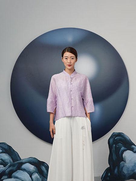 水墨生香女装品牌2019春季复古国风新款原创百搭中式改良上衣