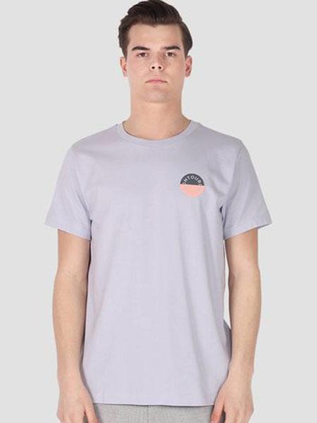 ONTOUR男装品牌2019春夏新款时尚休闲宽松圆领短袖T恤